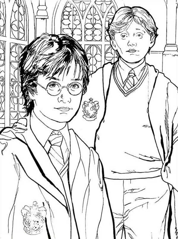 Harry Potter Drawing At Getdrawings Com Free For Personal Use
