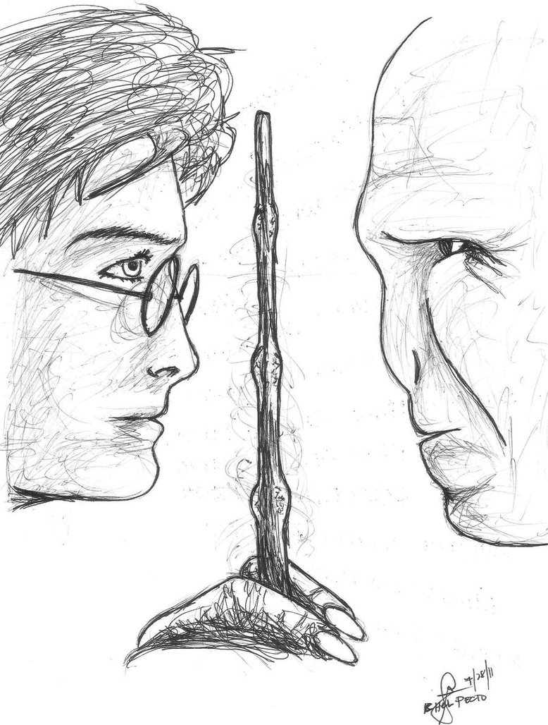 778x1028 Harry Potter And Voldemort By Stuffy106