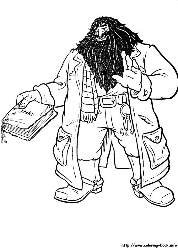 567x794 Harry Potter Coloring Pages On Coloring
