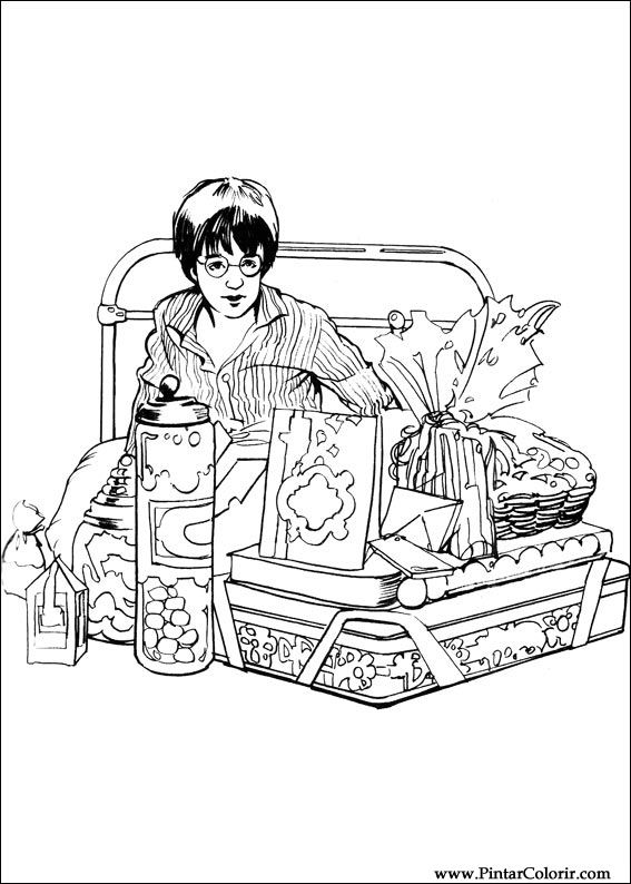 567x794 Drawings To Paint Amp Colour Harry Potter
