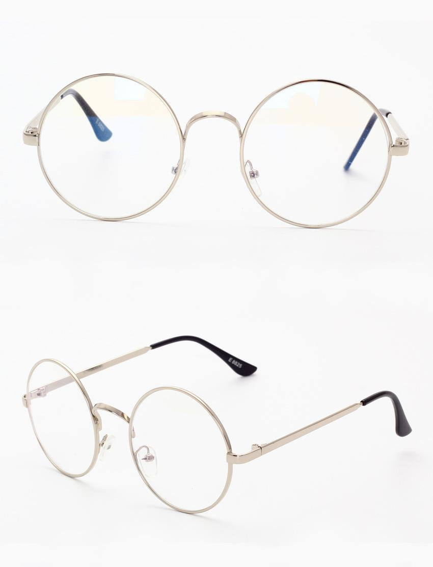 850x1113 Harry Potter Glasses Computer Lenses Round Metal Frame Eyeglasses