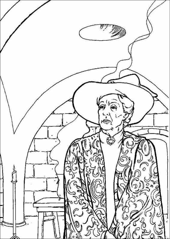 567x794 Harry Potter 048 Coloring Page
