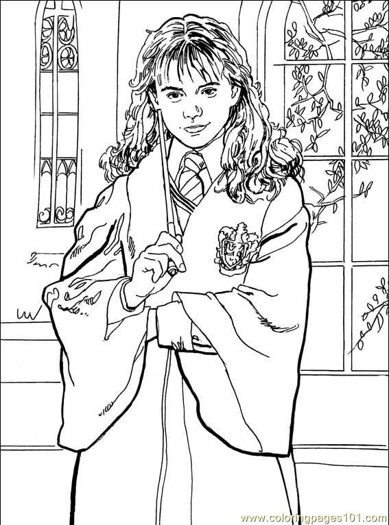 567x766 Skillful Ideas Harry Potter Printable Coloring Pages Harry Potter
