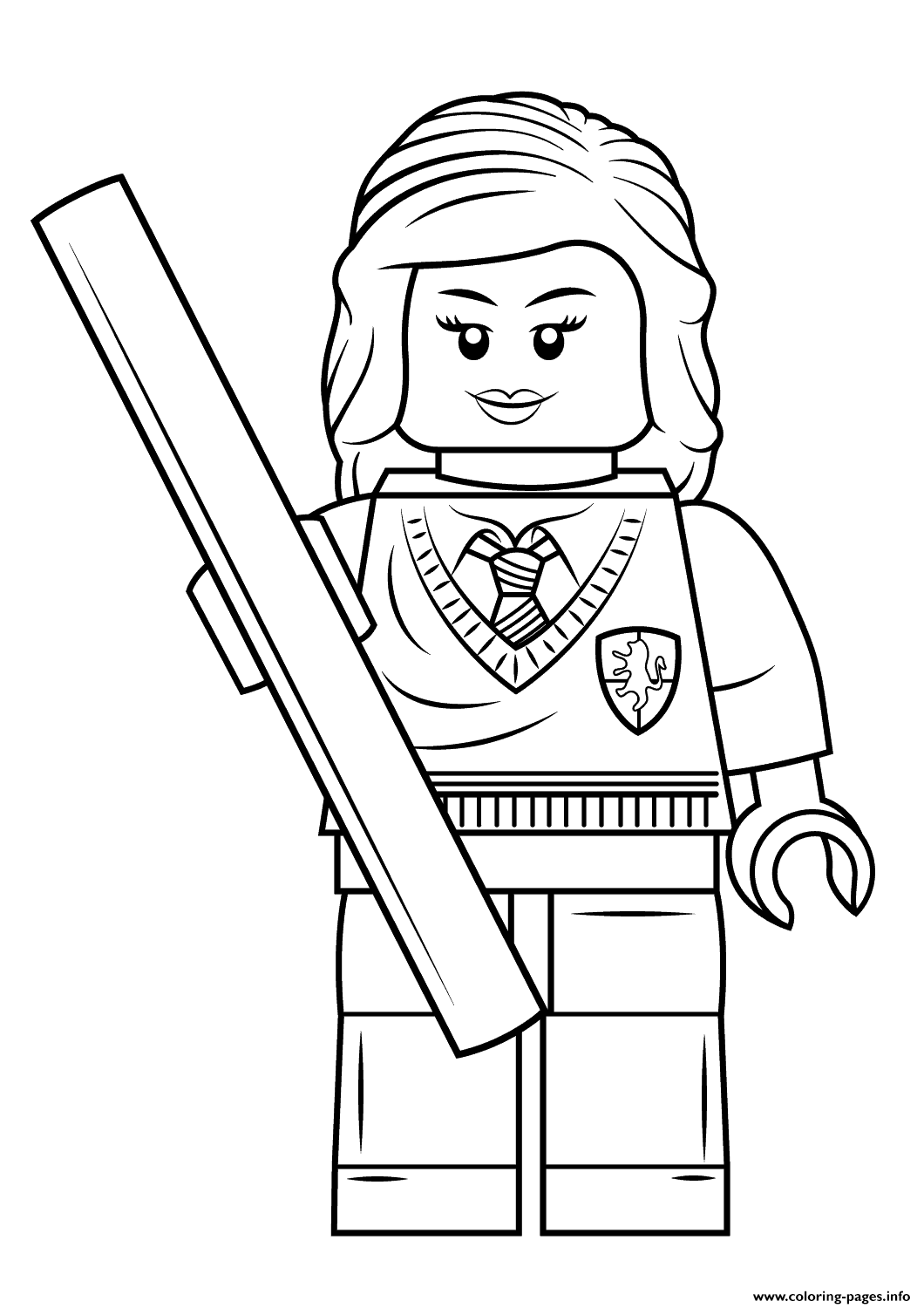 1060x1500 Harry Potter Coloring Pages