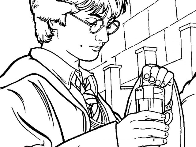 640x480 Potter Clipart Black And White