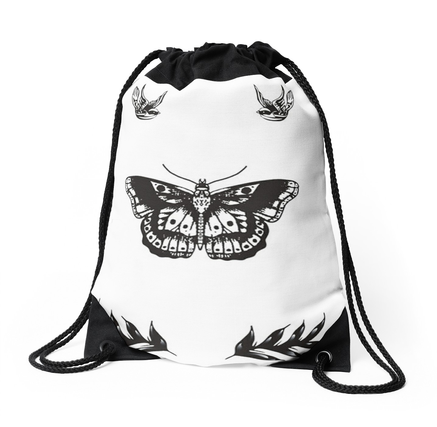 1435x1404 Harry Styles Tattoos Drawstring Bags By X O Redbubble