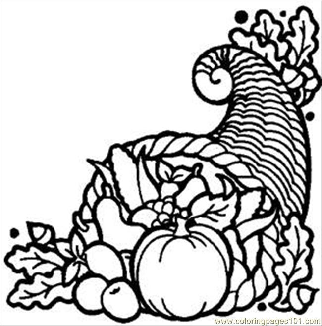 650x658 Thanks Harvest Rdax 65 Coloring Page