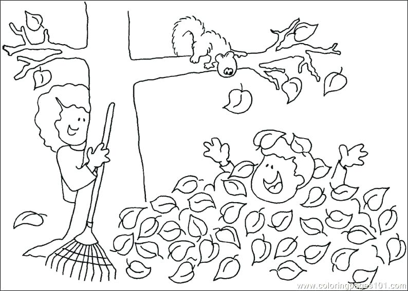 794x567 Top Printable Fall Coloring Pages Online Harvest Free Page Tree