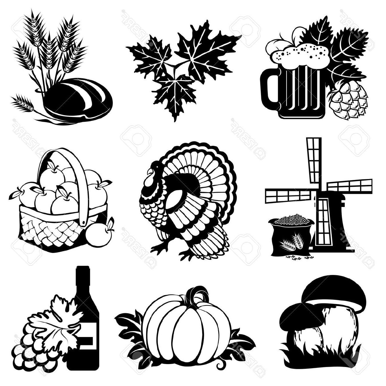 1300x1300 Best Free Harvest Silhouette Fall Clipart Image