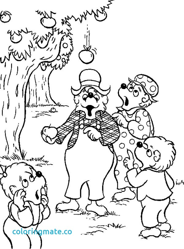 600x811 Berenstain Bears Coloring Pages Beautiful Berenstain Bear Family