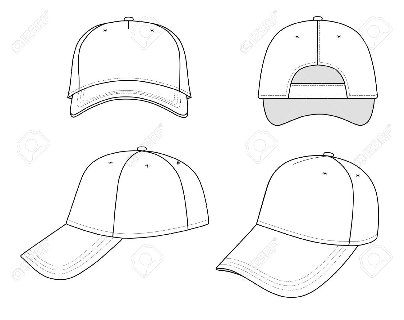 1300x1031 Sport For Gt Baseball Hat Drawing Inquiry Based Learning