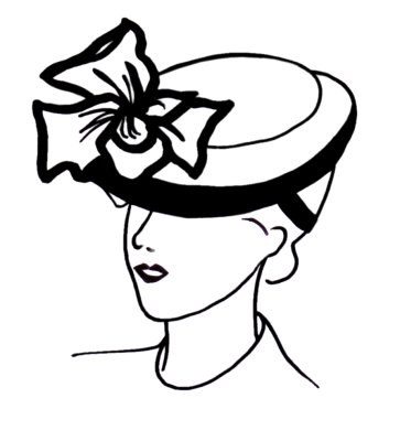Hat Line Drawing