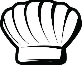 340x270 Chef Hat Drawing Etsy