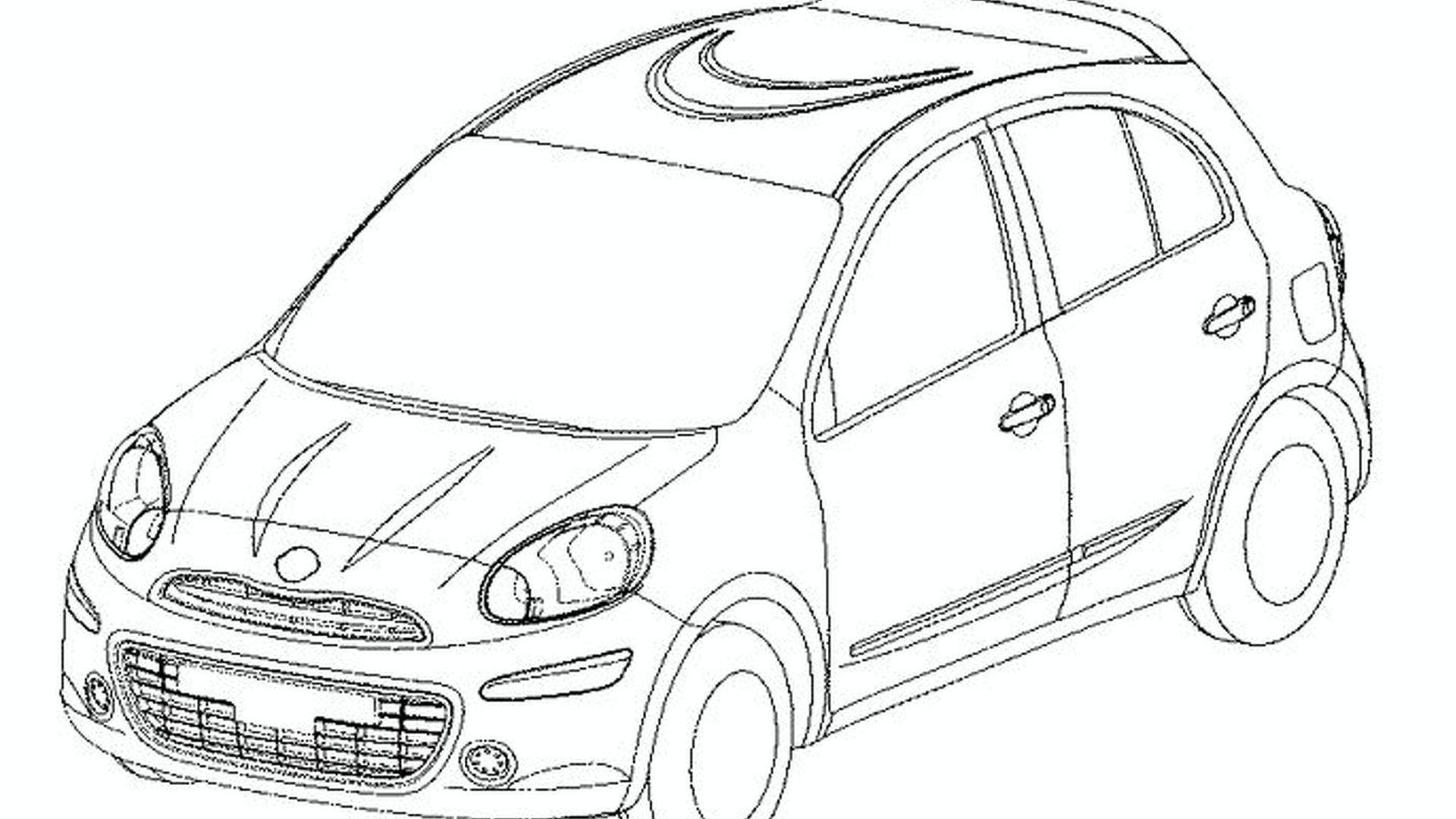 1920x1080 2010 Nissan Micra Designs Leak