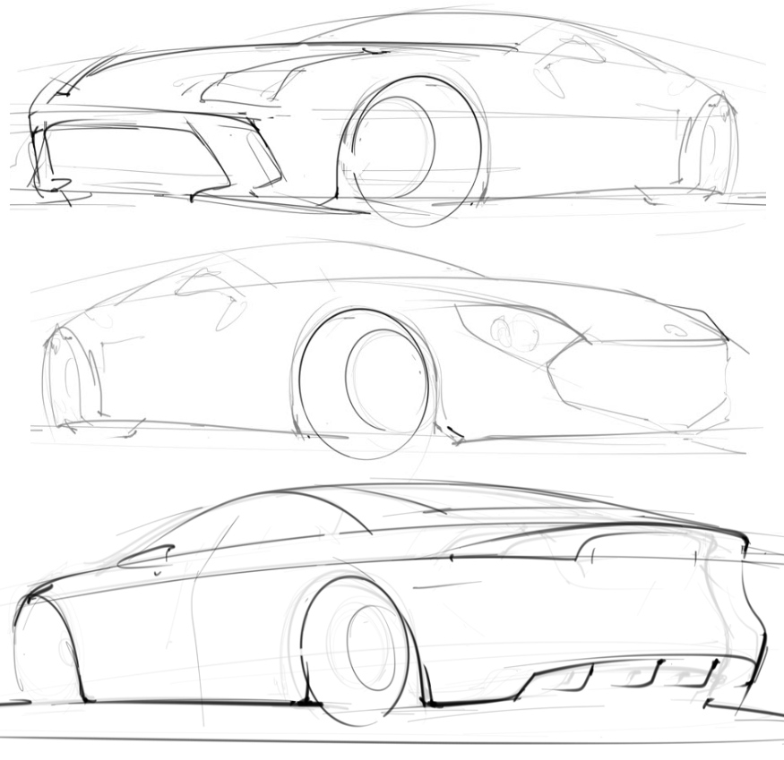 875x849 Scottdesigner Page 5 My Automotive Design Sketchbook