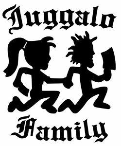 249x300 Hatchet Man Girl Juggalo Family Funny Vinyl Car Sticker Bumper