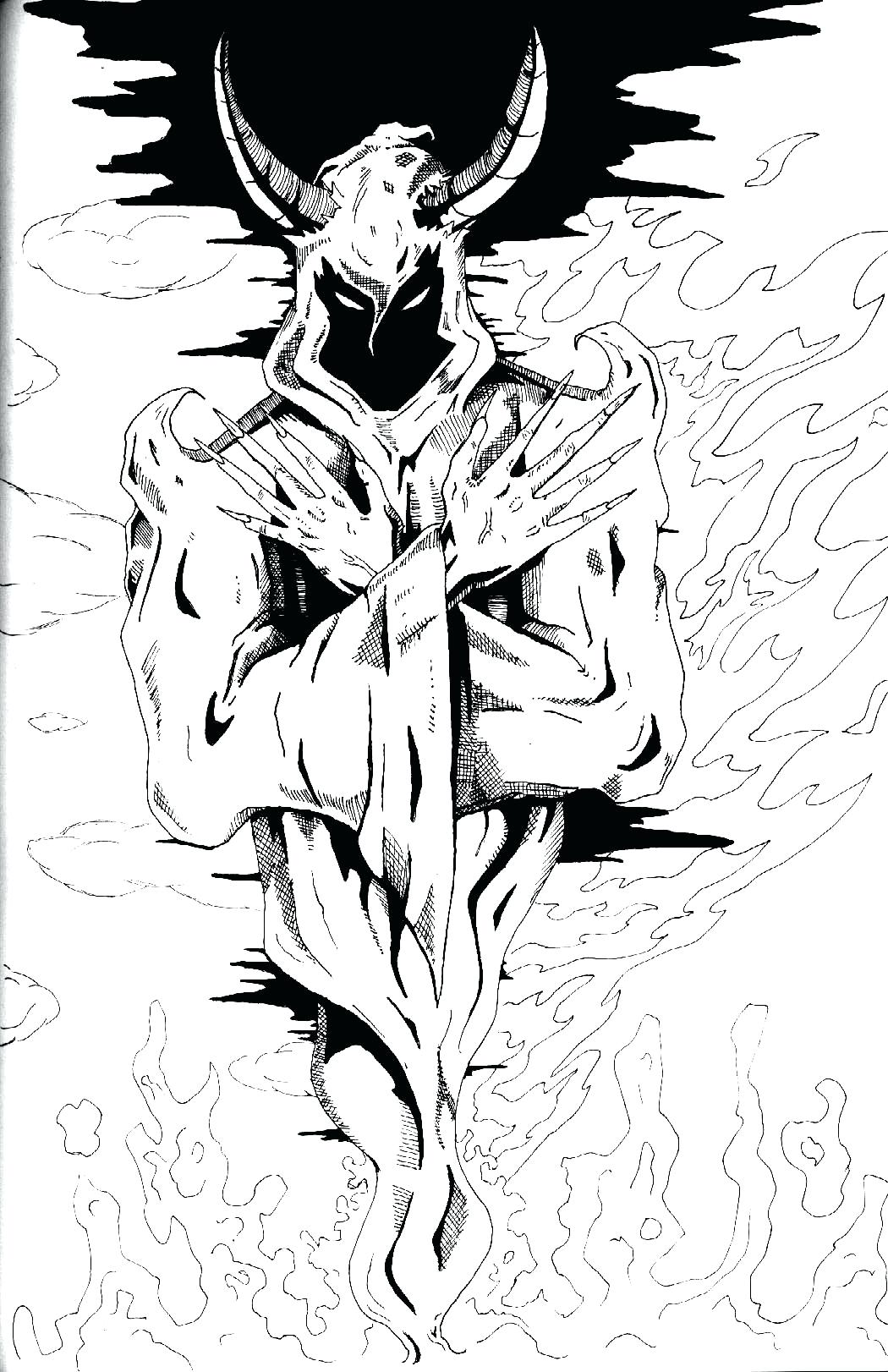 1050x1622 Coloring Icp Coloring Pages The Joker Able To Page Hatchet Man
