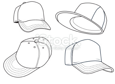 380x278 Hat Drawing Art Draw Clothes Hats Human Cap Clothing Baseball