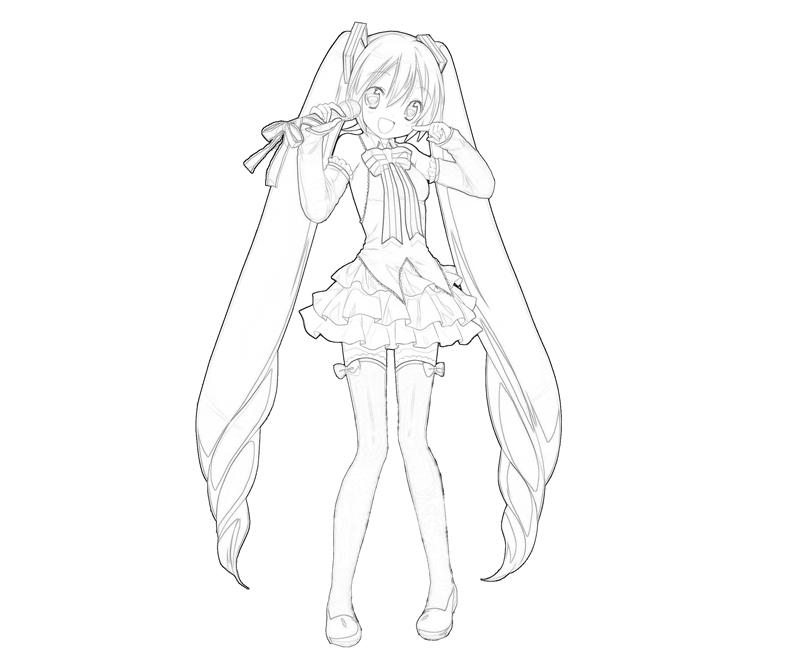 Hatsune Miku Chibi Drawing at GetDrawings.com | Free for personal ...