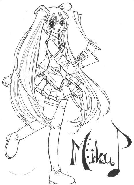 Hatsune Miku Drawing