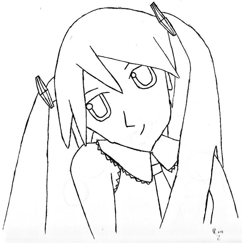 800x804 Hatsune Miku Fan Art By Ron Gillman