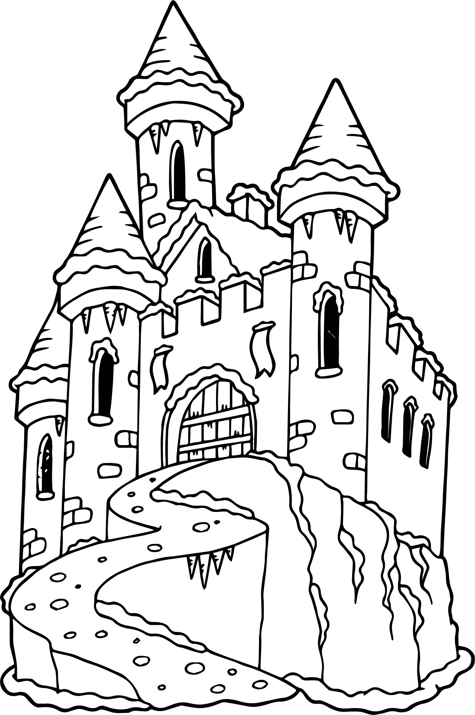 1572x2366 Halloween Castle Coloring Page For Kids Best Of Halloween Coloring