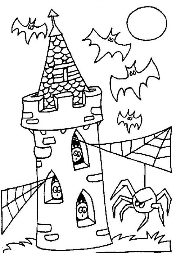 593x850 Tower Of Terror Coloring Pages