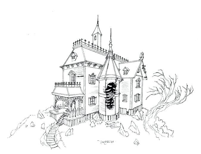 675x518 Cool House Drawings