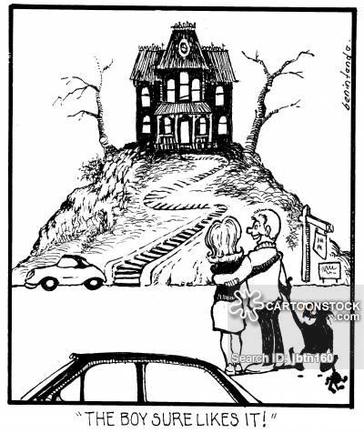 400x476 Spooky House Cartoons And Comics