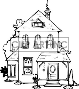 265x300 The Best Haunted House Drawing Ideas On Haunted