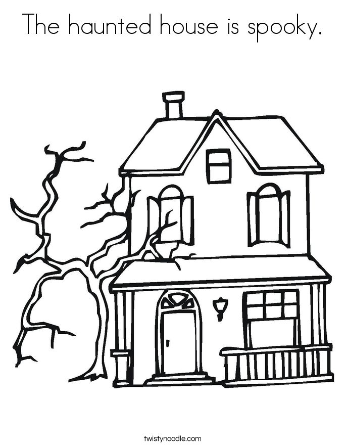685x886 Halloween Haunted House Drawing Ideas Festival Collections