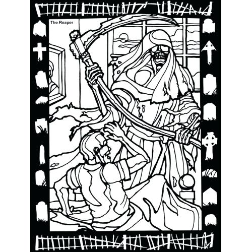 500x500 Haunted Mansion Coloring Pages Fine Witch Coloring Pages Be