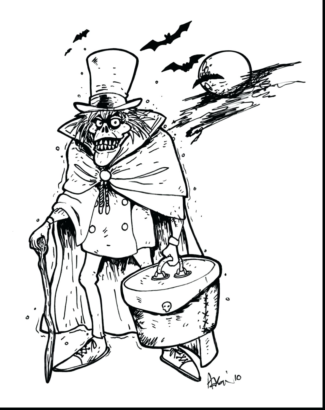 1320x1666 Coloring Halloween House Coloring Pages