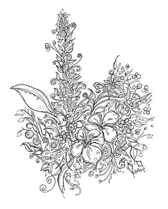 570x706 Best Hawaii Flowers Drawing Ideas On Hawaiian