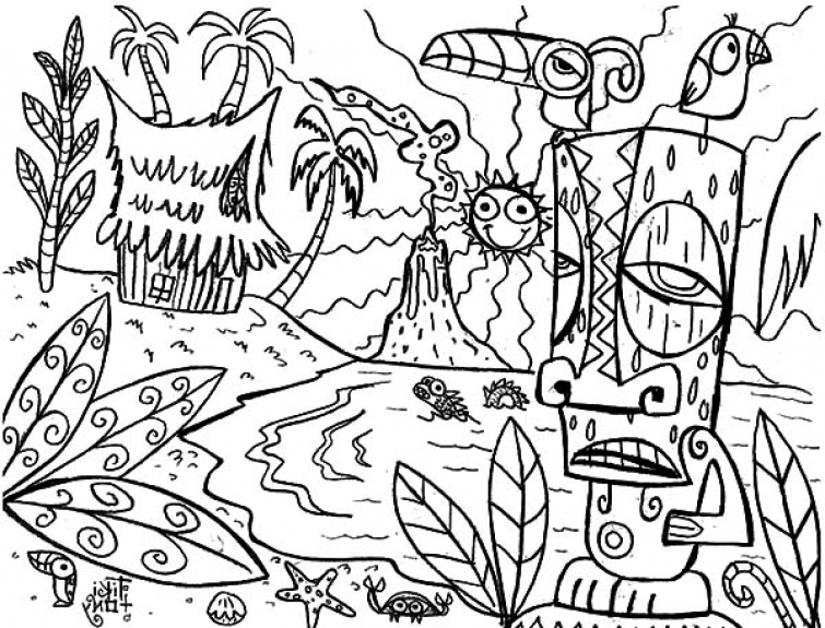 hawaii drawing at getdrawings com free for personal use hawaii