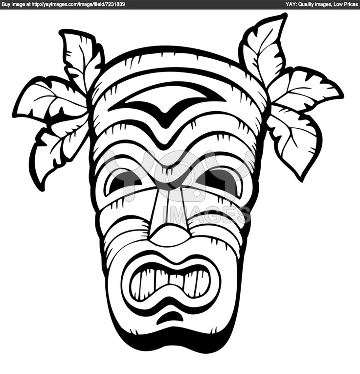 736x764 Hawaiian Flower Coloring Pages