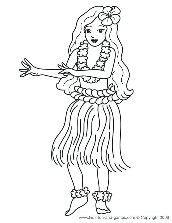 564x730 Hawaii Coloring Page Main In This Is Paint Drip Red Yellow