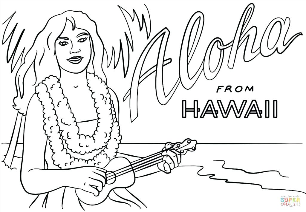 1024x711 Hawaii Coloring Pages As Well As Color And Identify Intertidal