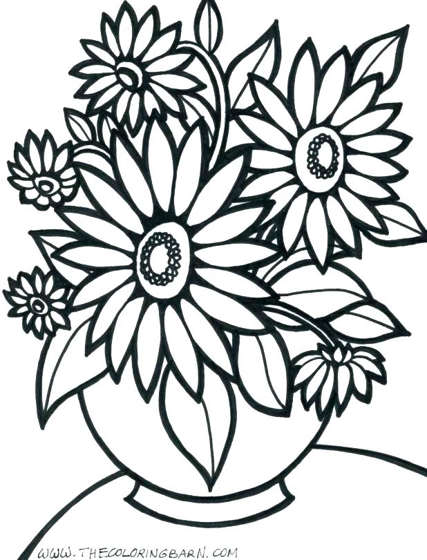 618x811 Hawaii Flowers Coloring Pages Flower Best Collection Coloring Pages