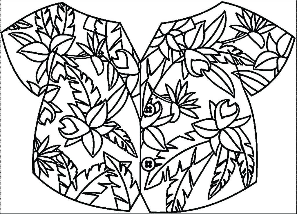 1024x740 Hawaii Coloring Pages