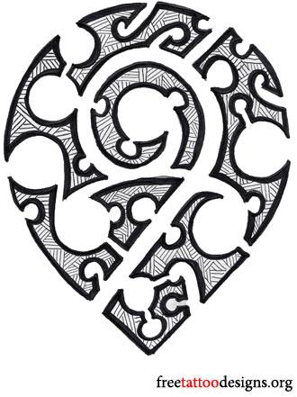 330x441 Hawaiian Tattoos Flower, Tribal, Band Tattoo Designs