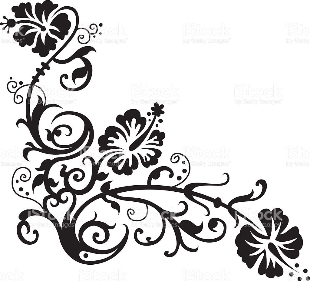 Hawaiian Flowers Drawing At Getdrawings Free For Personal Use