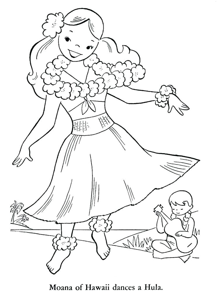 750x1024 Hawaiian Coloring Pages Coloring Pages Archives For Page Hawaiian