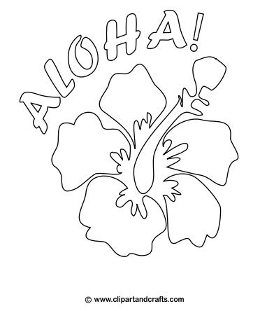 382x444 Hawaiian Flower Pattern Luau Dance Party Hawaiian