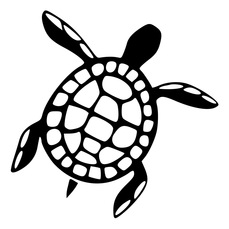 1500x1500 Sea Turtle Die Cut Decal Car Window Wall Bumper Phone Laptop