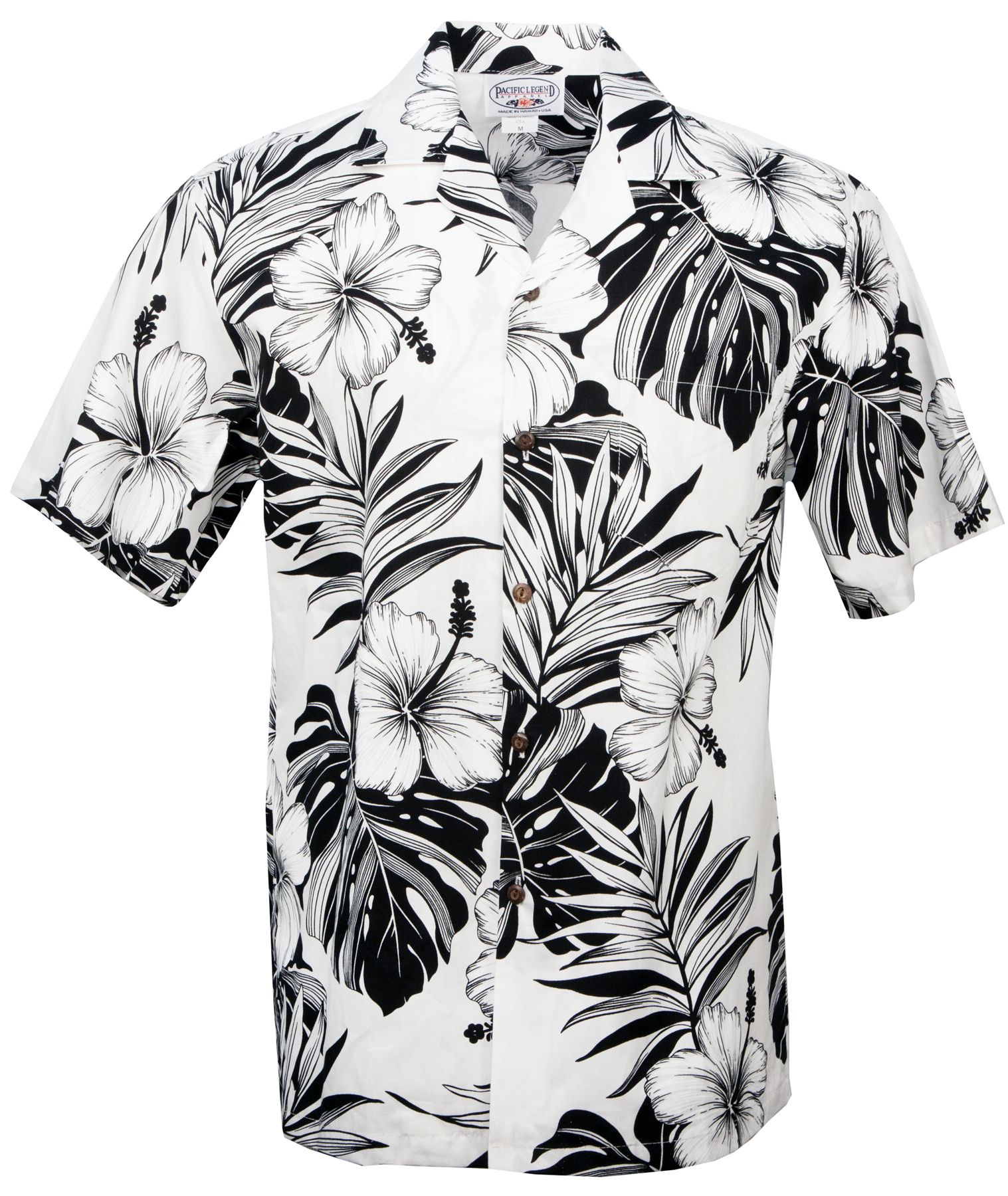 1517x1800 Hibiscus Passion Mens Hawaiian Aloha Shirt In White, Mens Hawaiian