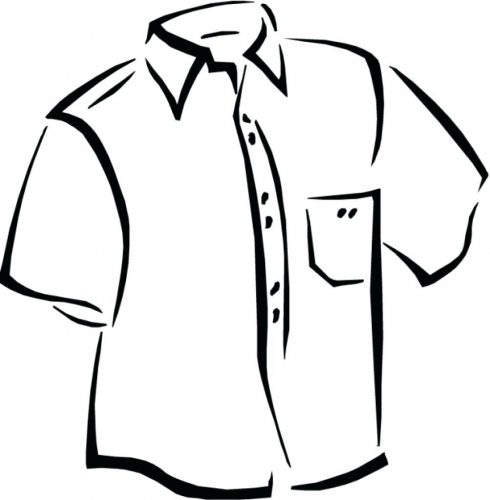 490x500 Coloring Pages ~ T Shirt Coloring Page Pages Of Shirts And Jersey
