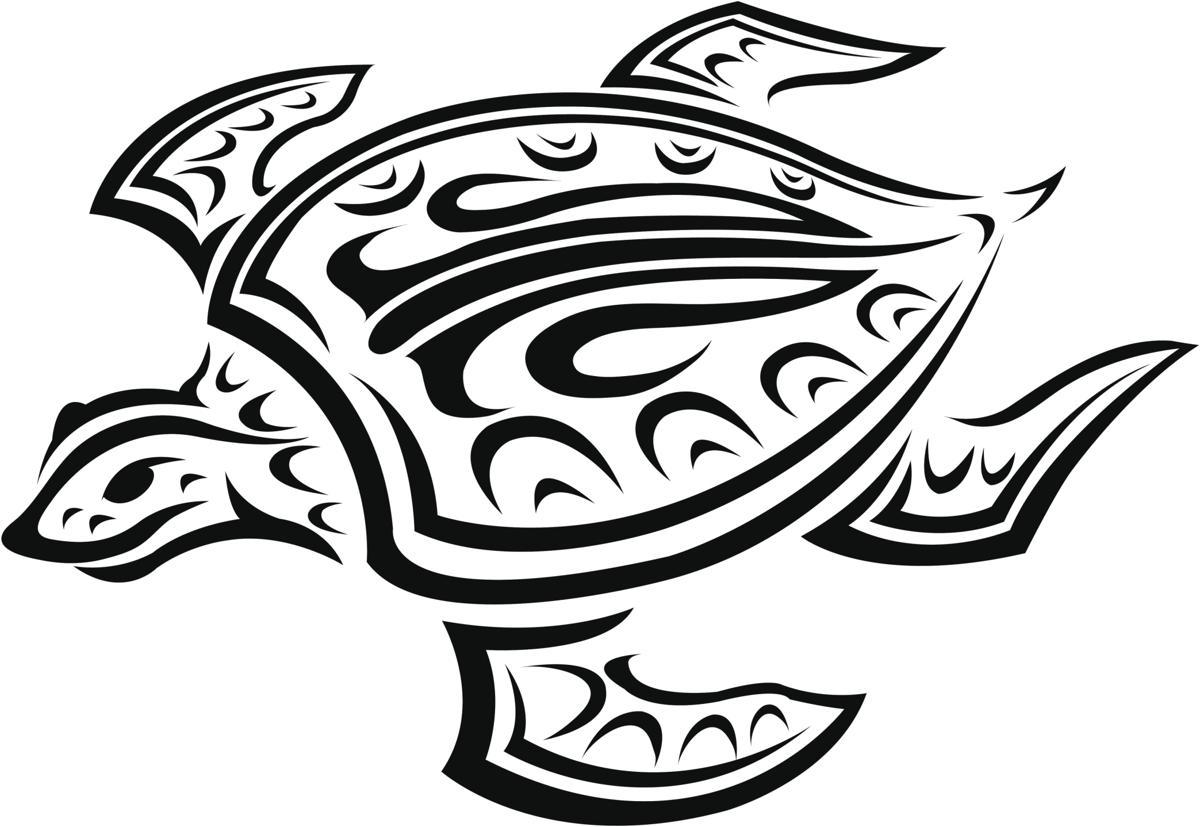 1200x827 Hawaiian Turtle Tattoos