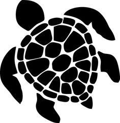 236x242 Sea Turtle Outline Clip Art