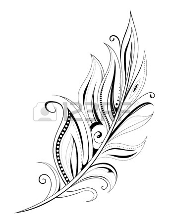 347x450 159,378 Feather Cliparts, Stock Vector And Royalty Free Feather